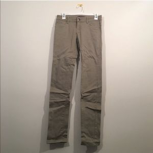 New Khaki Skinny Pants